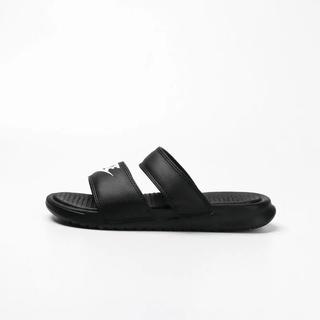 耐克 Wmns Benassi Ultra 拖鞋黑色 819717白色 -010 819717-100 男女休閒運動商務