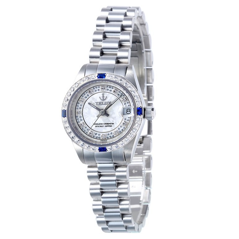 台灣品牌手錶腕錶【TELUX鐵力士】尊爵系列經典女腕錶手錶26MM-另有男款台灣製造復古8918WKJ