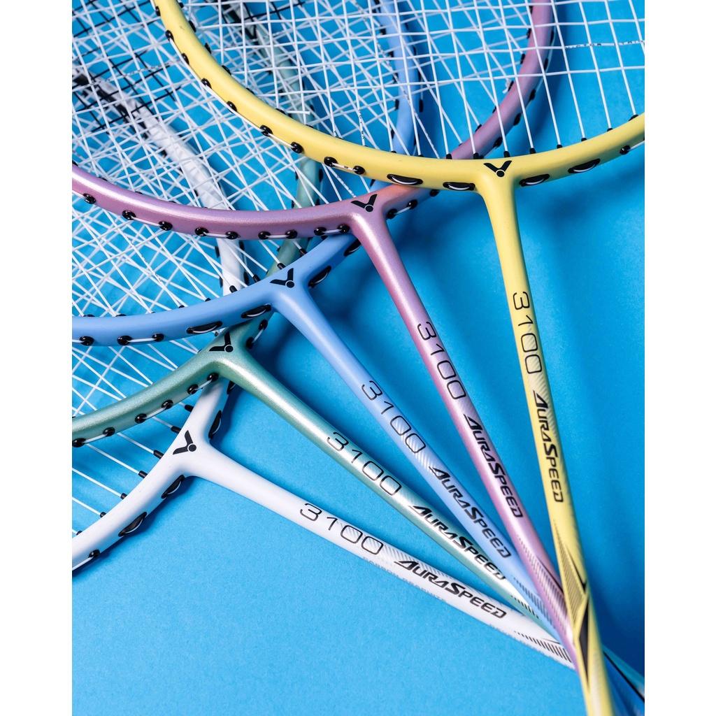 (羽球世家)勝利 羽球拍 超輕 神速 ARS-3100 純色 ARS3100 全碳纖維 Victor 羽球拍 4U