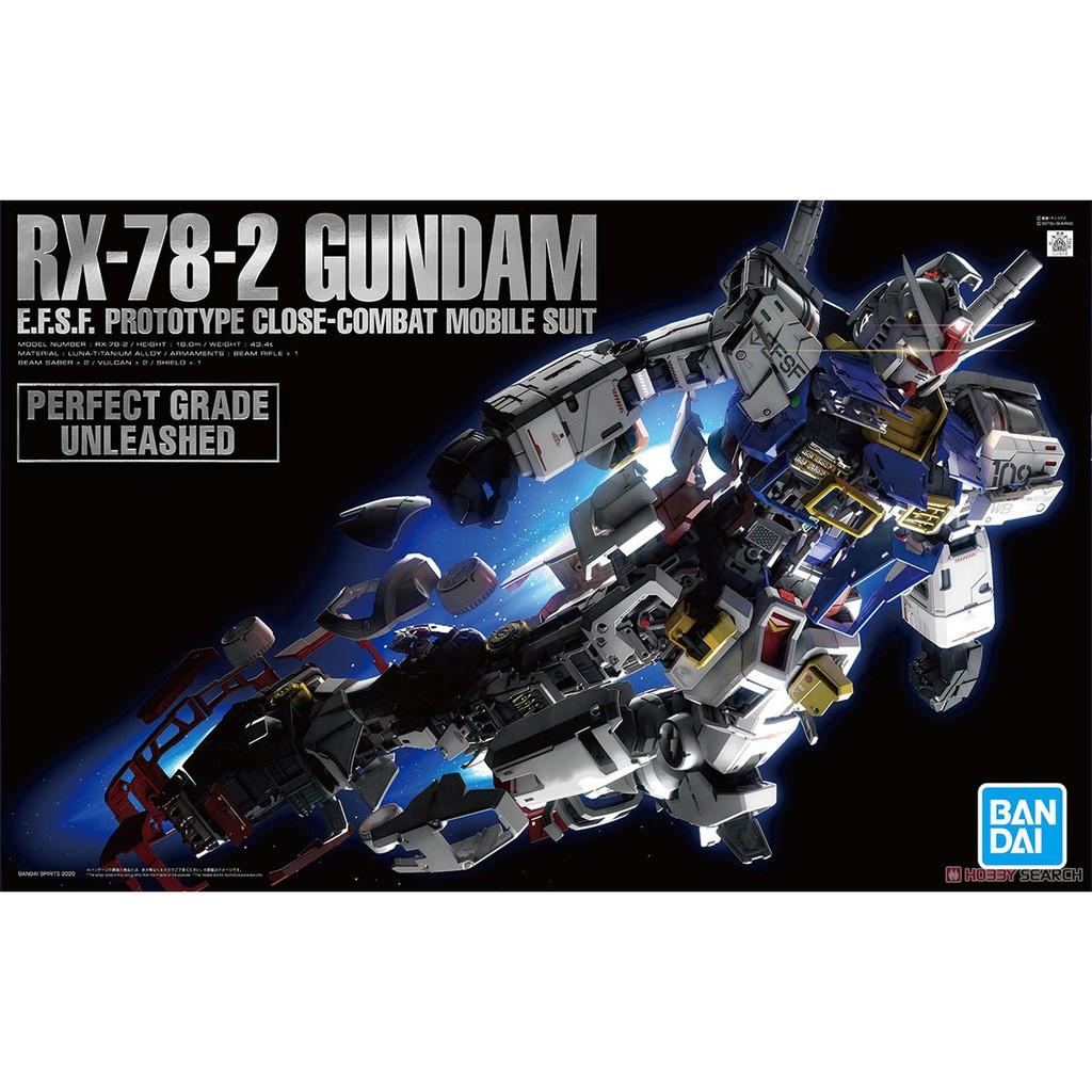 (大鳥叔叔模型)BANDAI [現貨] PG UNLEASHED 1/60 RX-78-2 鋼彈 鋼彈 初鋼