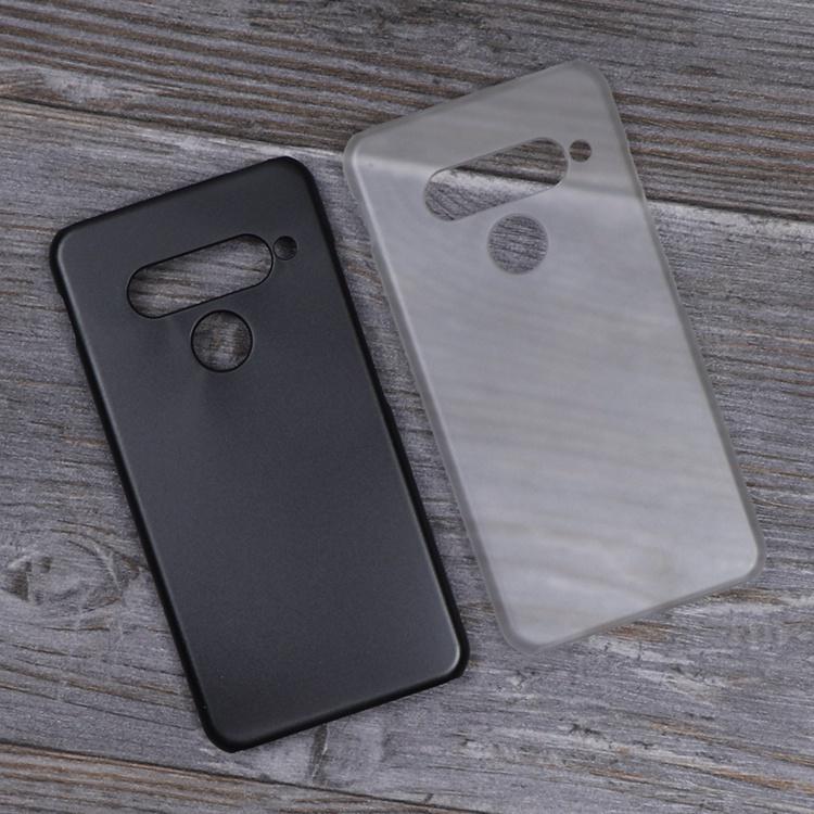 現貨﹉℗✠半包硬殼 LG G8s透明磨砂殼 lg g8 thinq手機殼 隱形盾薄pc保護套Stri