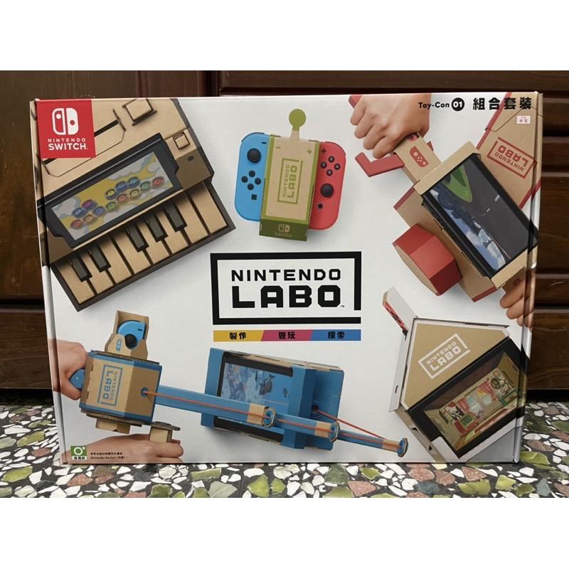 《二手出清》switch 遊戲片 LABO 01 04 組好 鋼琴 VR