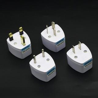 全球通用國標英規美規歐規澳規韓德標二三腳電源轉換插頭器轉接頭(現貨)