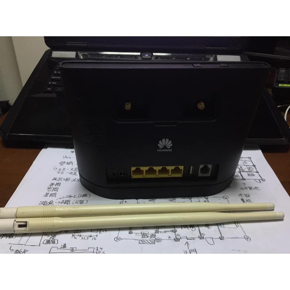 [二手] 華為 B315s-22 4G SIM卡轉 網路WiFi分享器 附天線和電源