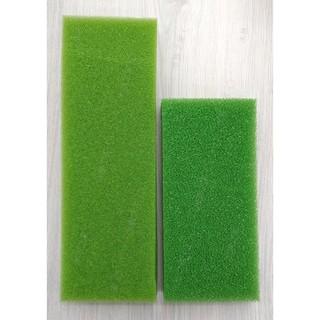 【水族之家】綠生化棉 尺寸適合1.5/2尺上部伸縮槽滴流盒 方形生化棉 培菌 過濾 便當盒 上部過濾 水族濾材