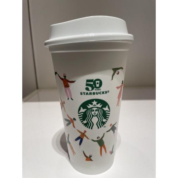 星巴克克50週年紀念Reusable Cup 50週年紀念 星巴克50 環保杯 TOGO玻璃杯 Kermit隨行杯
