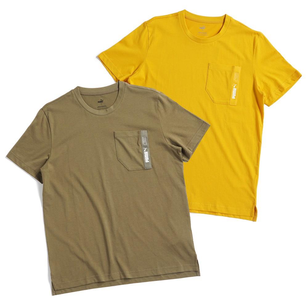 PUMA 基本系列 Nu-Ttility 男款 運動 休閒 口袋 短袖上衣 T恤 亞規 58304525/49