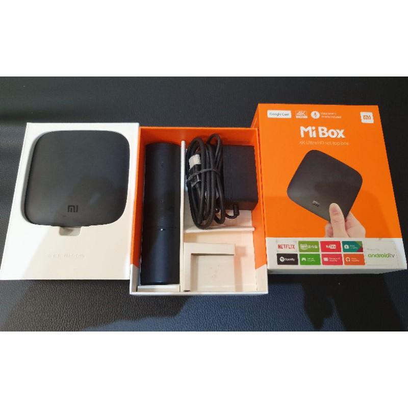 【二手品】小米盒子Mi Box 國際版 4K(遙控器接觸不良)