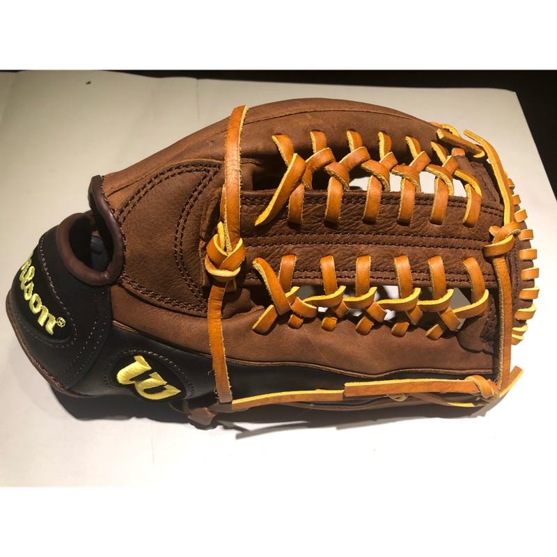 "Wilson YAK 12.5"" 外野手套"