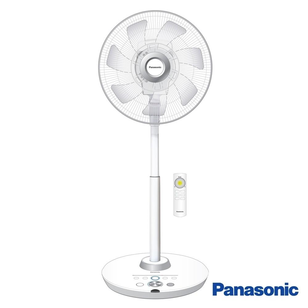 【Panasonic 國際牌】16吋DC直流電風扇旗艦型 飛梭遙控器 台灣製造 F-H16GND