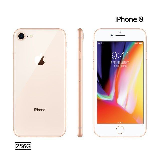(僅此一支)iPhone 8 256G (空機)全新原廠福利機 XS MAX XR IX I7+ I8+ PLUS