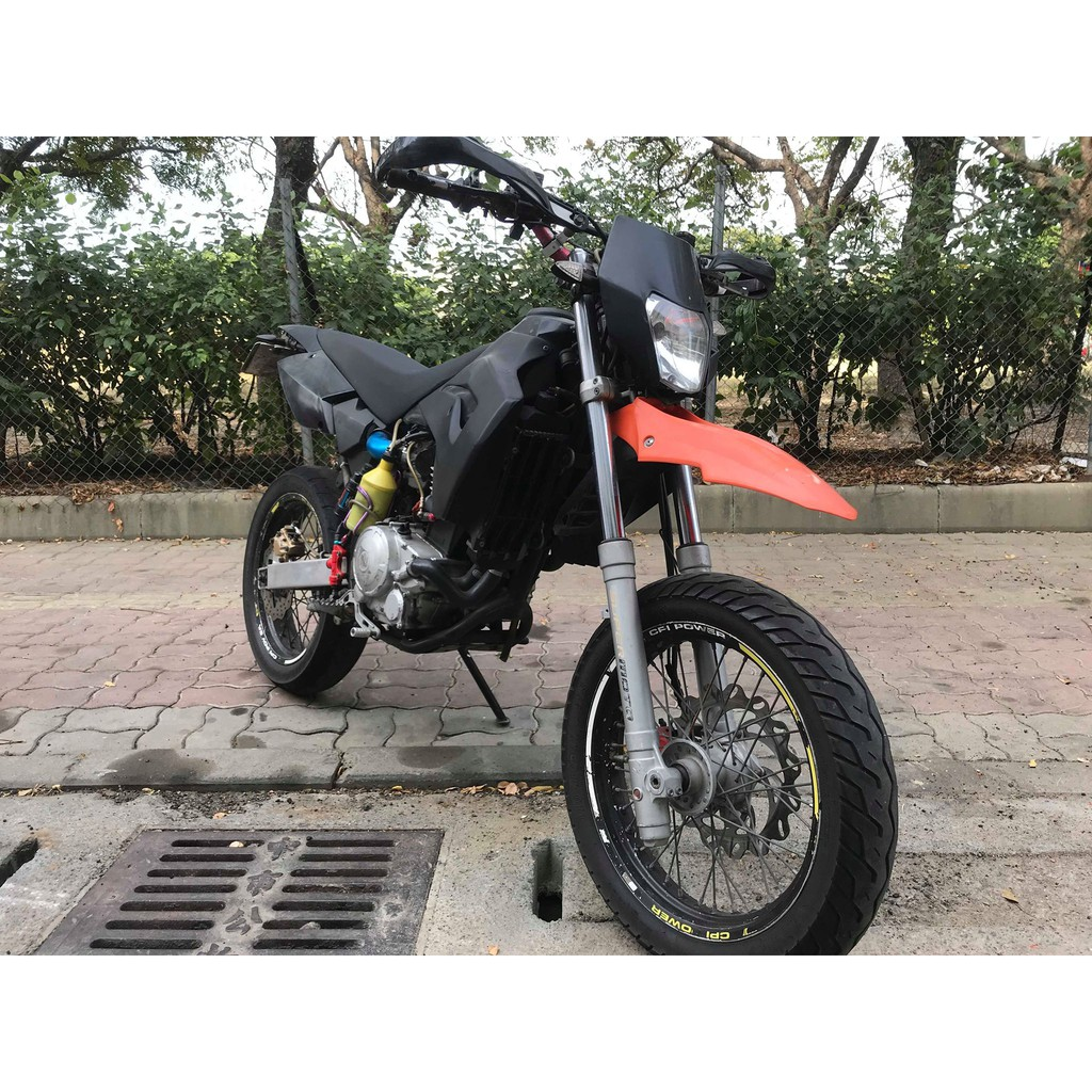 【幽浮二手機車】CPI SM250 優質越野滑胎車 黑色 2010年  【999元牽車專案開跑 】