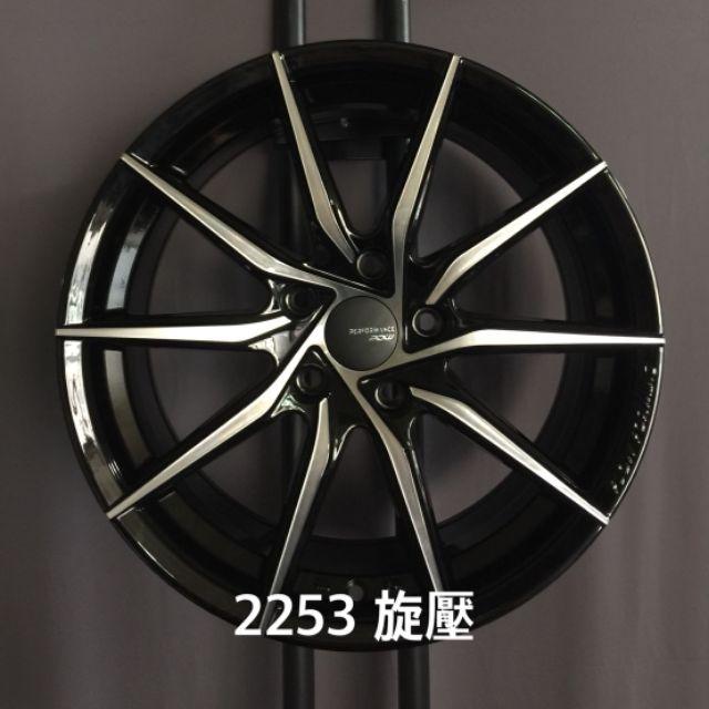 PDW 旋壓輕量17吋五孔100亮黑車面鋁圈WISH ALTIS SIENTA(88非商品實際售價 請洽詢)