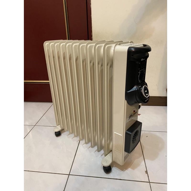 電暖器北方NR-11ZL葉片式電暖器(自取)