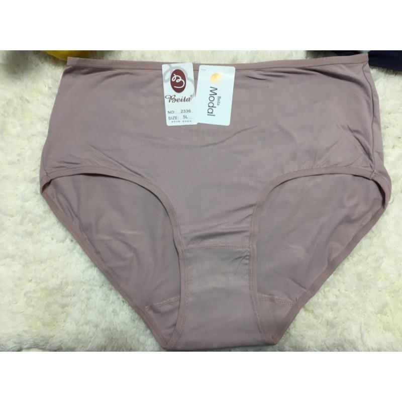◾️簡單點◾️Beita牛奶絲5L(XXXXXL)加大高腰三角內褲#2336