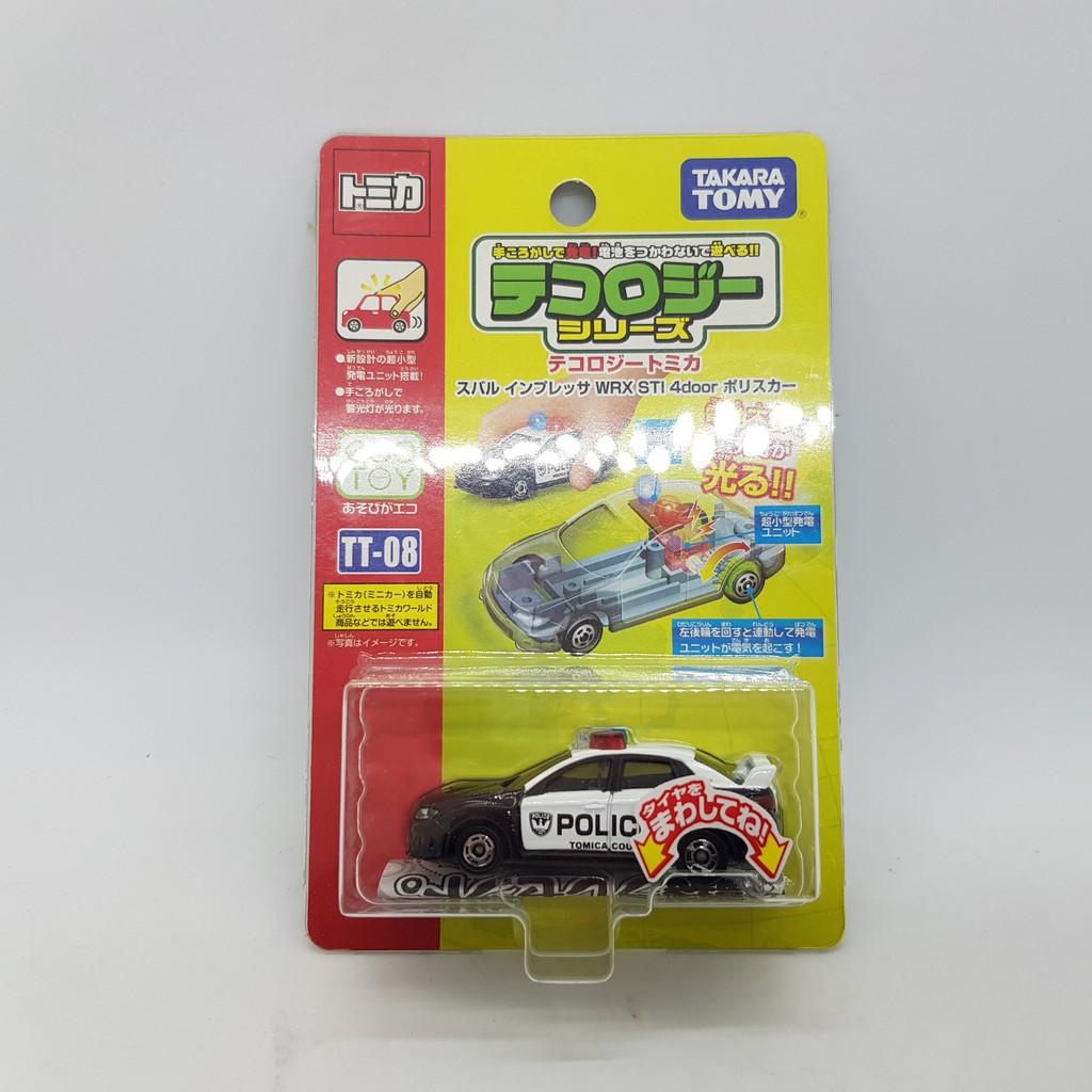 【小車停車場】TOMICA TT-08 TT08 發光車 SUBARU WRX STI 4DOOR 警車