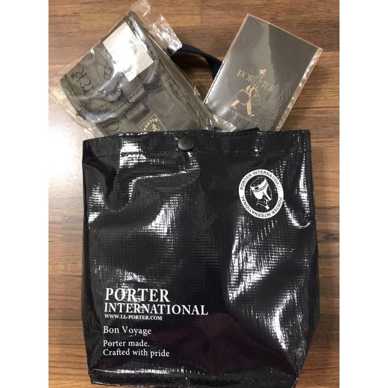 吉田 Porter 掛腰包 腰包 零錢包 咖啡色 送禮最佳