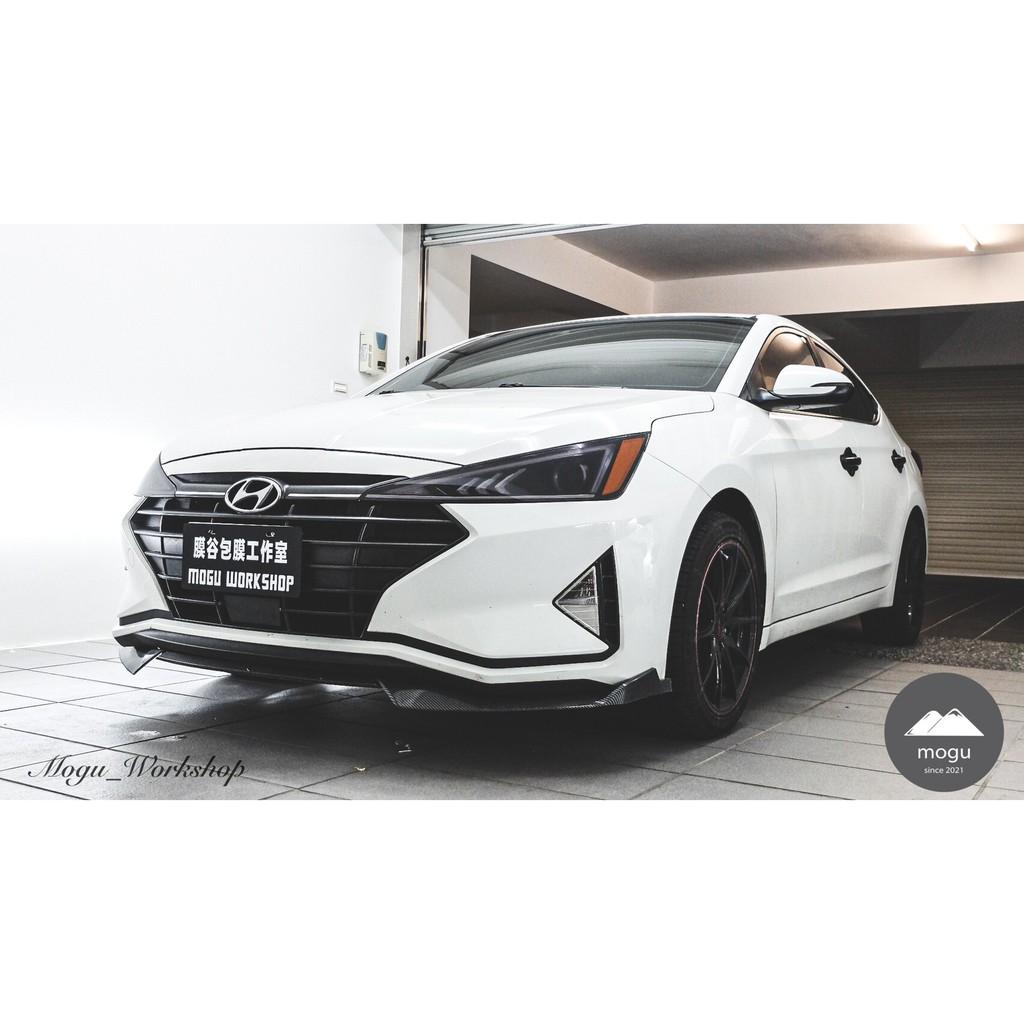 [膜谷包膜工作室] Hyundai Elantra 6.5代 大燈仿美規反光片膜  (一對  改裝