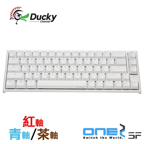 Ducky One2 SF Cherry MX RGB 機械軸 67鍵 機械式鍵盤 DKON1967ST