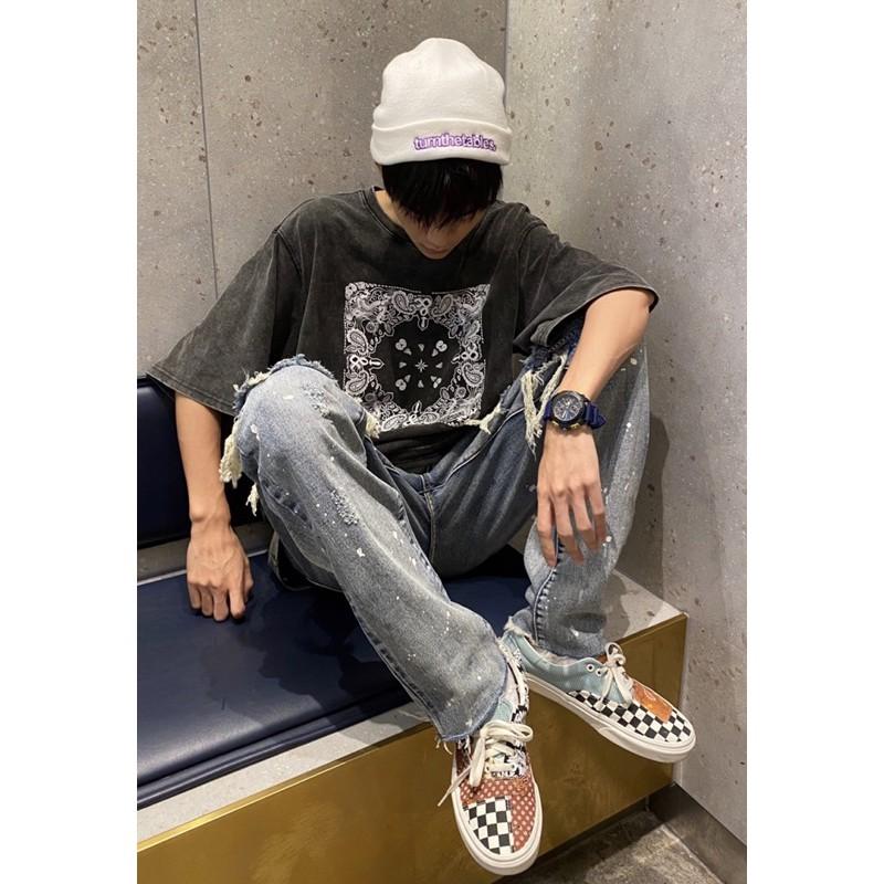 EPOCH ® Vans era tiger patchwork kris wu 拼接 吳亦凡 腰果花 變形蟲