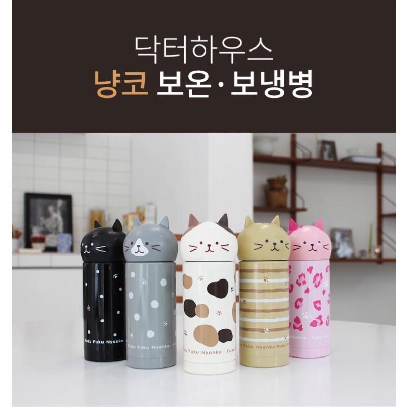 韓國人氣家電品牌 Dr.HOWS 貓咪造型 保溫瓶 貓奴必備
