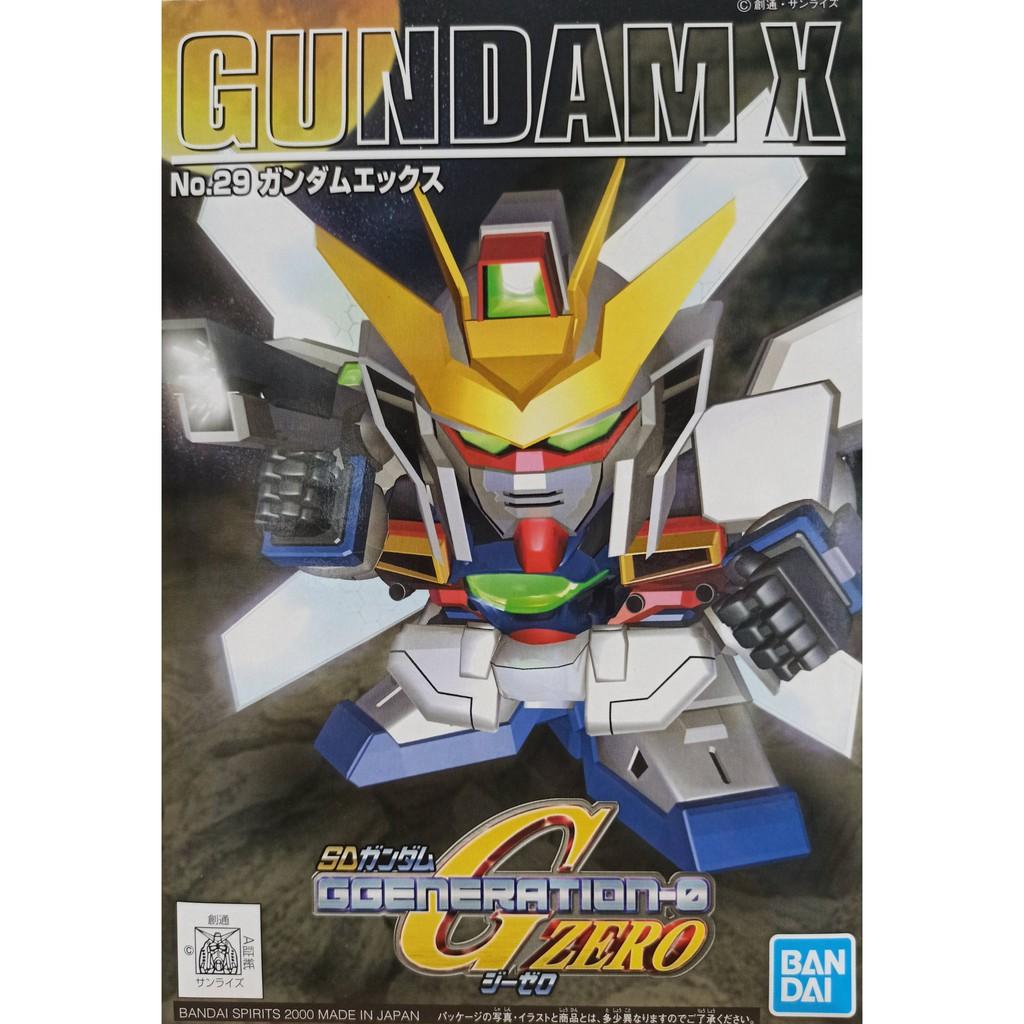 [BANDAI正品] BB SD 鋼彈 GG 29 G ZERO X鋼彈 GX-9900 GUNDAM X