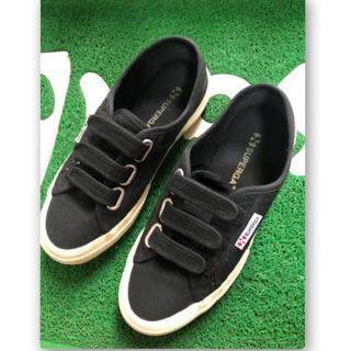 SUPERGA 8成新 魔鬼氈帆布鞋 36號 原價2180 售1000元 嘉義市