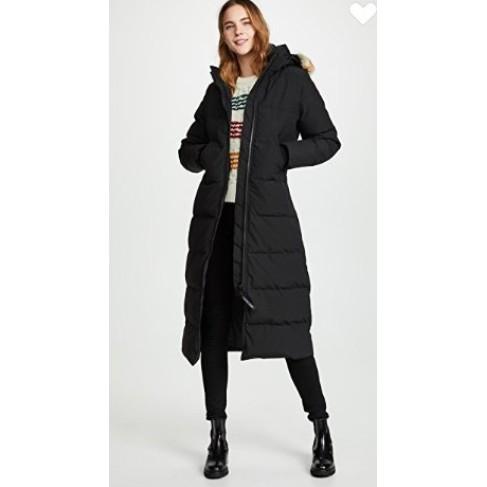 保證正品 Canada Goose 加拿大鵝 Mystique Parka 頂級 防風 長版羽絨外套 收腰顯瘦 黑
