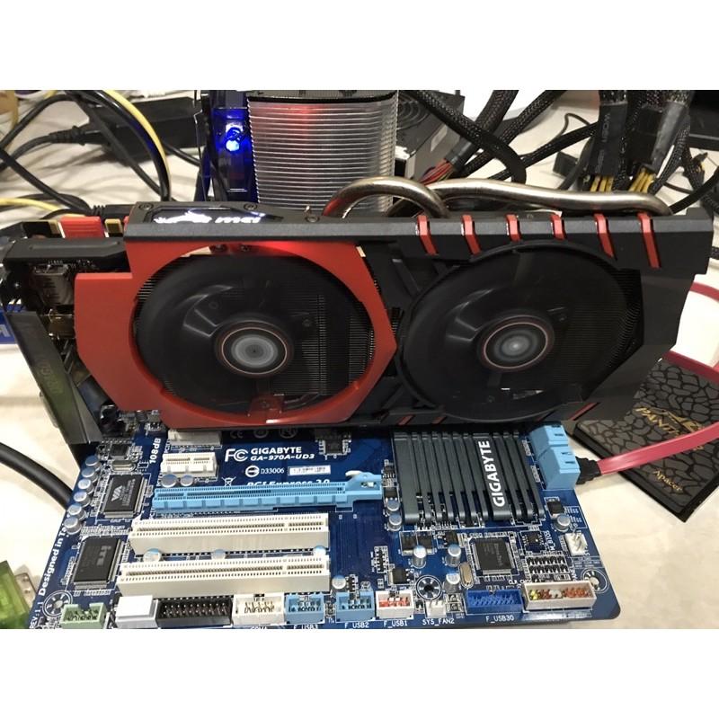 「顯示卡」GTX960 -2G MSI 紅龍卡