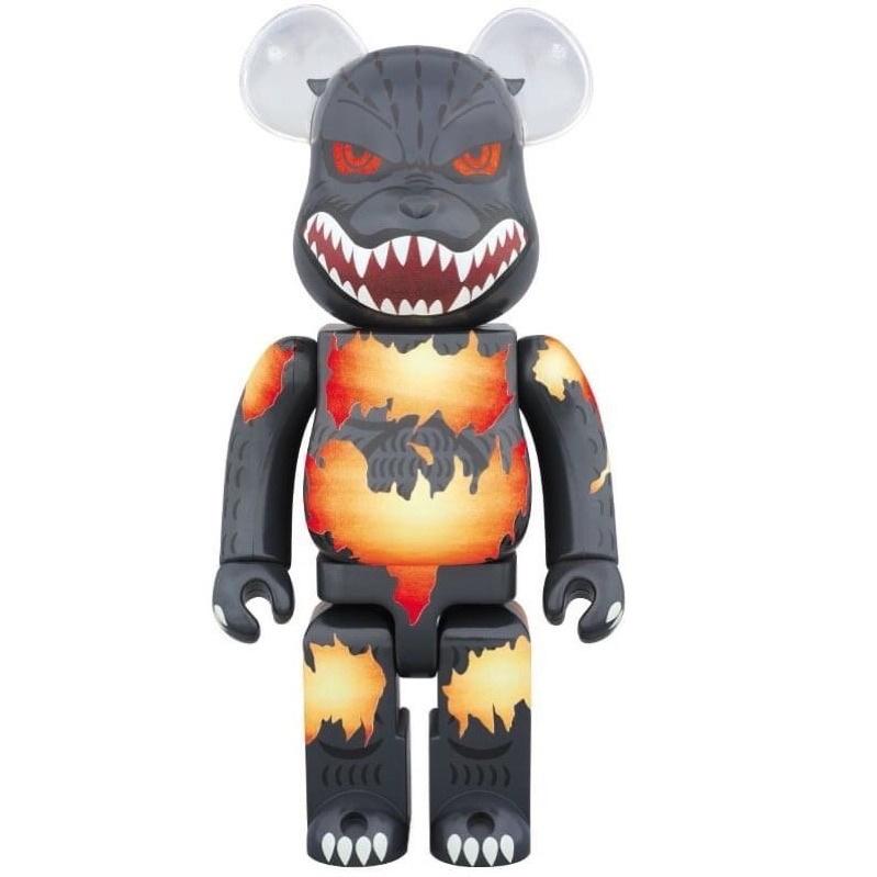 Be@rbrick 紅蓮哥吉拉 1000% Godzilla bearbrick