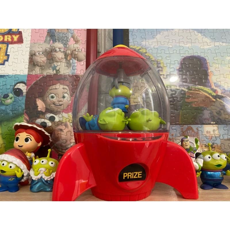 (二手)Disney 迪士尼 玩具總動員 三眼怪火箭糖果罐