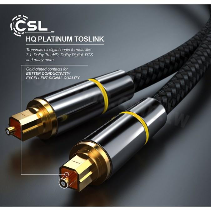 【台灣現貨保固 】數位光纖音源線 方對方連接線 音頻線 SPDIF 1米 2米 3米 5米10米 15米 20米