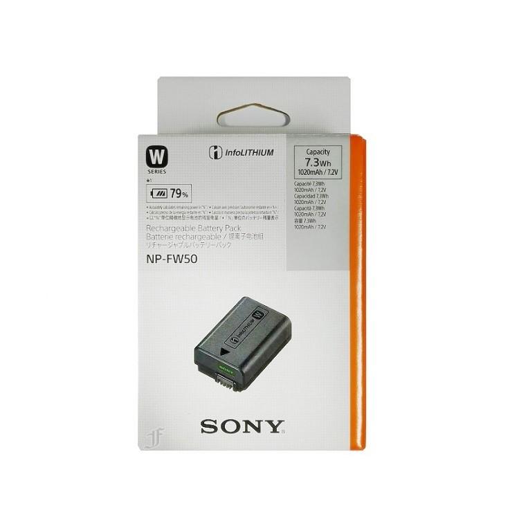 SONY NP-FW50 原廠鋰電池 (台灣公司貨) A6400 A6500 A6600 RX10 A7III A7IV