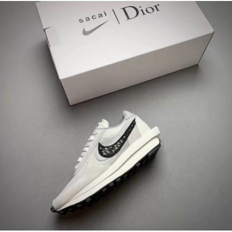 AD-Nike x Sacai x Dior 聯名 20 獨家首發 白灰 雙溝設計 +預購