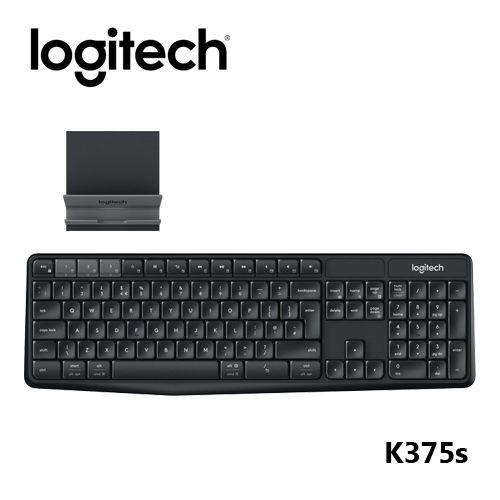 Logitech 羅技 K375s 跨平台無線 藍牙 鍵盤支架組合 公司貨開發票 超商超材請選郵寄或宅配