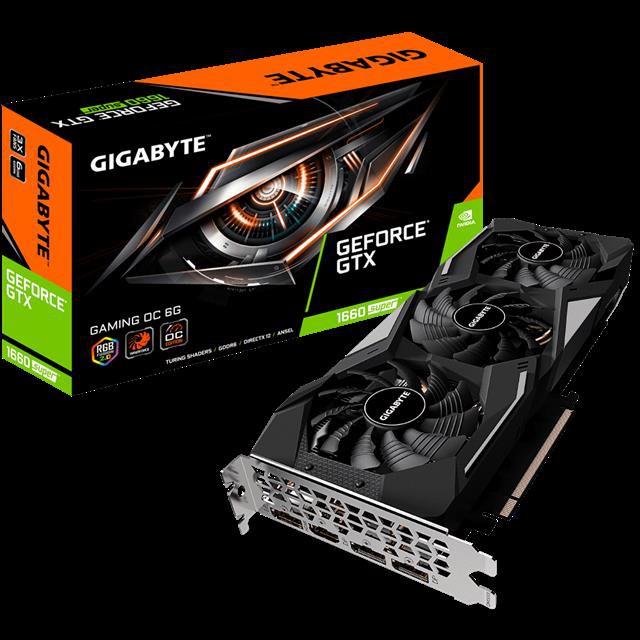 現貨 免運 技嘉gtx1660ti super gtx1660super 6g  電腦游戲顯卡 顯示卡 高性能