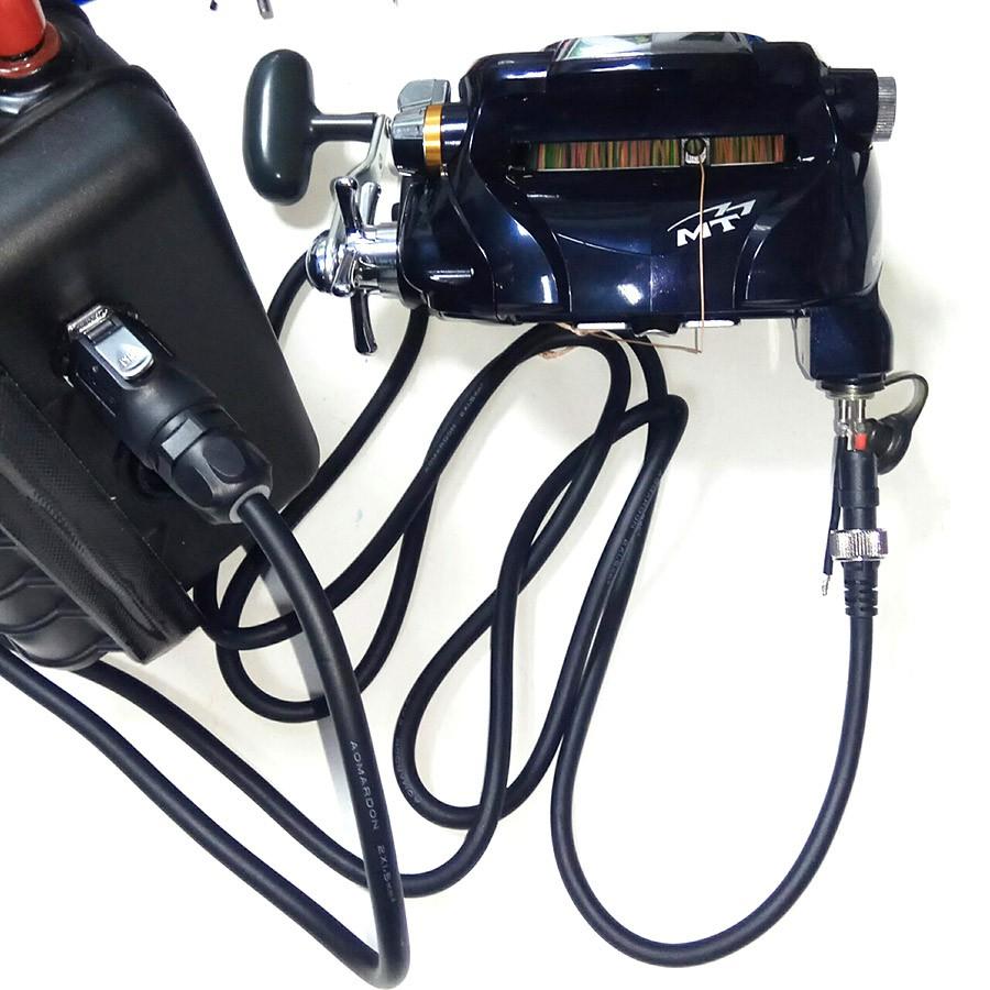 船釣專用鋰電池快插電源線改裝模組 Daiwa750 / Shimano BM9000可用