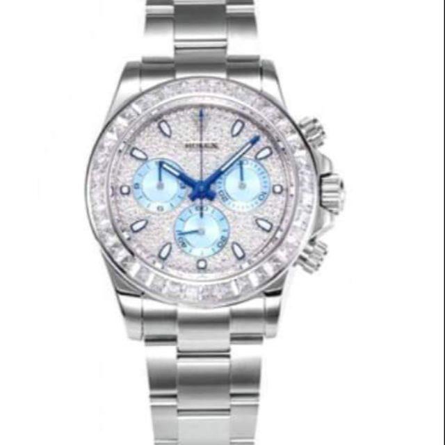 正品 Rolex  Daytona勞力士迪通拿滿天星腕錶