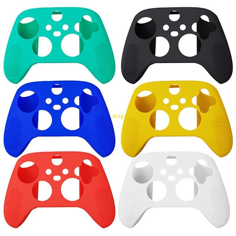 btsg -Xbox系列X S遊戲手柄控制器的矽膠保護套外殼