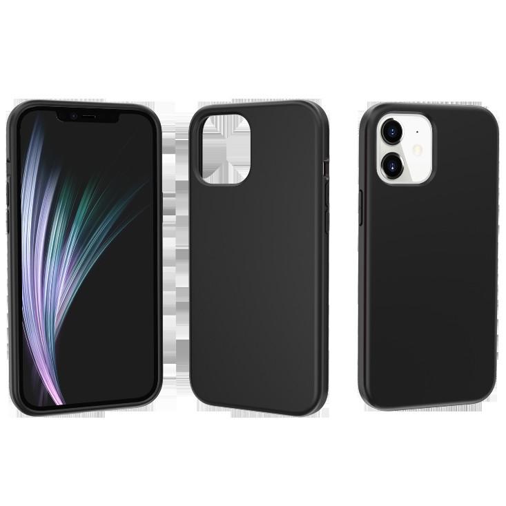 適用IPHONE12promax終結者實色防摔保護套iphone12mini橡膠漆手機保護殼