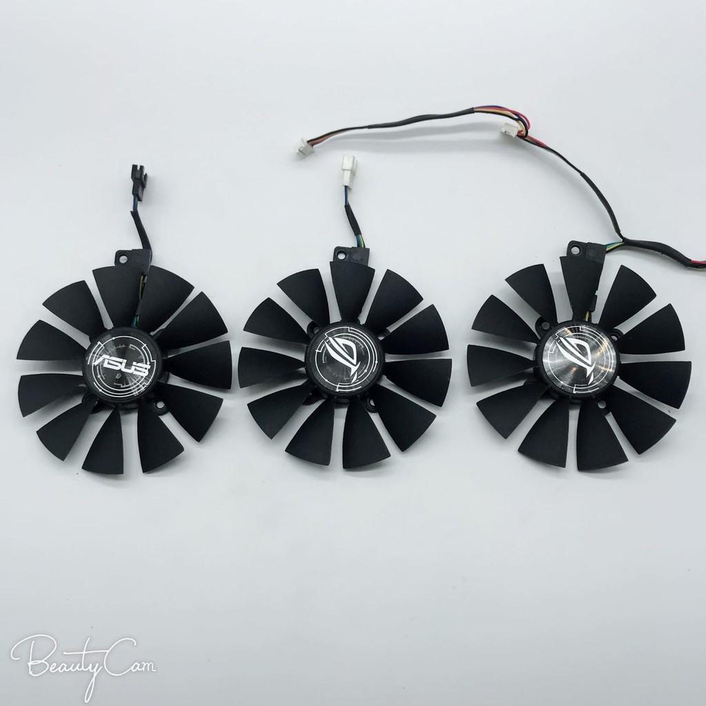 🌸台灣現貨免運🌸現貨華碩猛禽ROG STRIX GTX1060 1070 1080TI 顯卡風扇三風扇顯卡專用