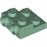 LEGO 6223171 99206 砂綠色 2x2 2/3 側接轉向 薄板 Sand Green