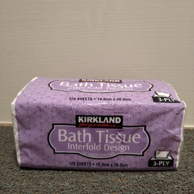 科克蘭 Kirkland KS 三層衛生紙 120抽 COSTCO 好市多