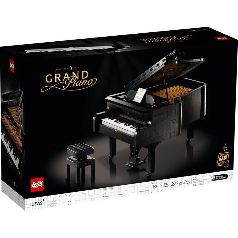 LEGO 21323 鋼琴 IDEAS 系列 自取價8600