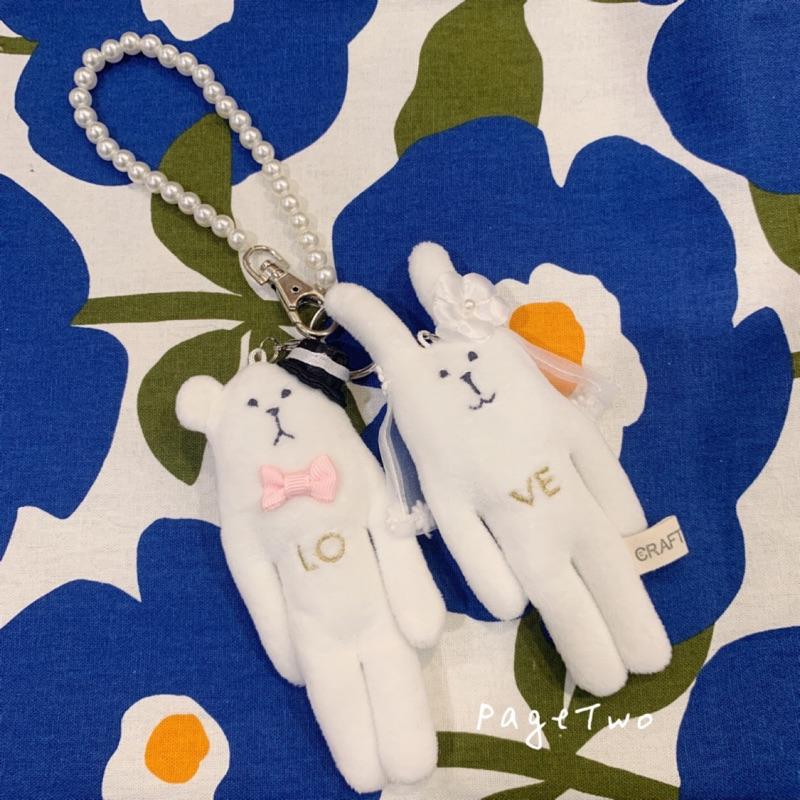 沛吉兔日貨館。日本宇宙人CRAFTHOLIC 結婚 LOVE 絨毛娃娃吊飾/WEDDING新郎新娘婚禮物婚禮布置/現貨