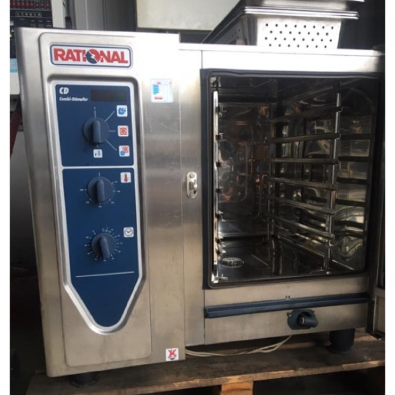 高雄食品機械倉庫 二手蒸烤箱  Rational 蒸烤箱