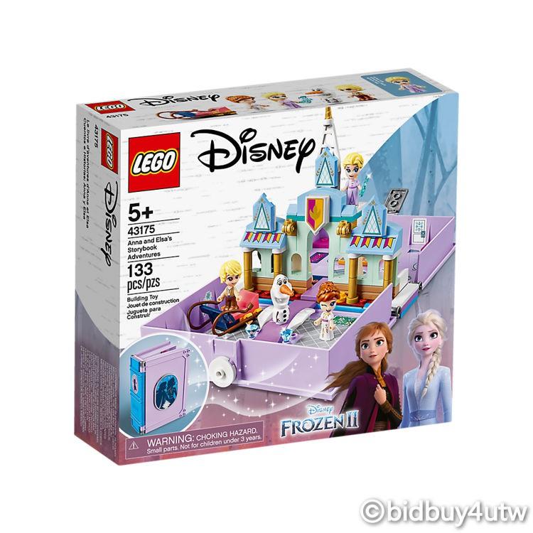 LEGO 43175 安娜與艾莎的口袋故事書 迪士尼公主系列 【必買站】樂高盒組