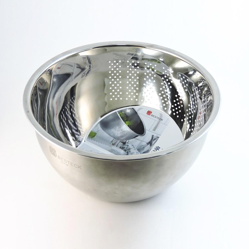 【BESTECK】 304不銹鋼多功能瀝水盆《WUZ屋子》洗米蔬菜水果