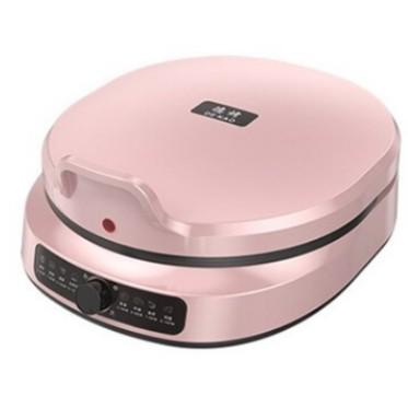 【台灣現貨】110V電餅鐺 1600W大功率 家用懸浮式可麗餅機 鬆餅機 雙層雙煎餅鍋