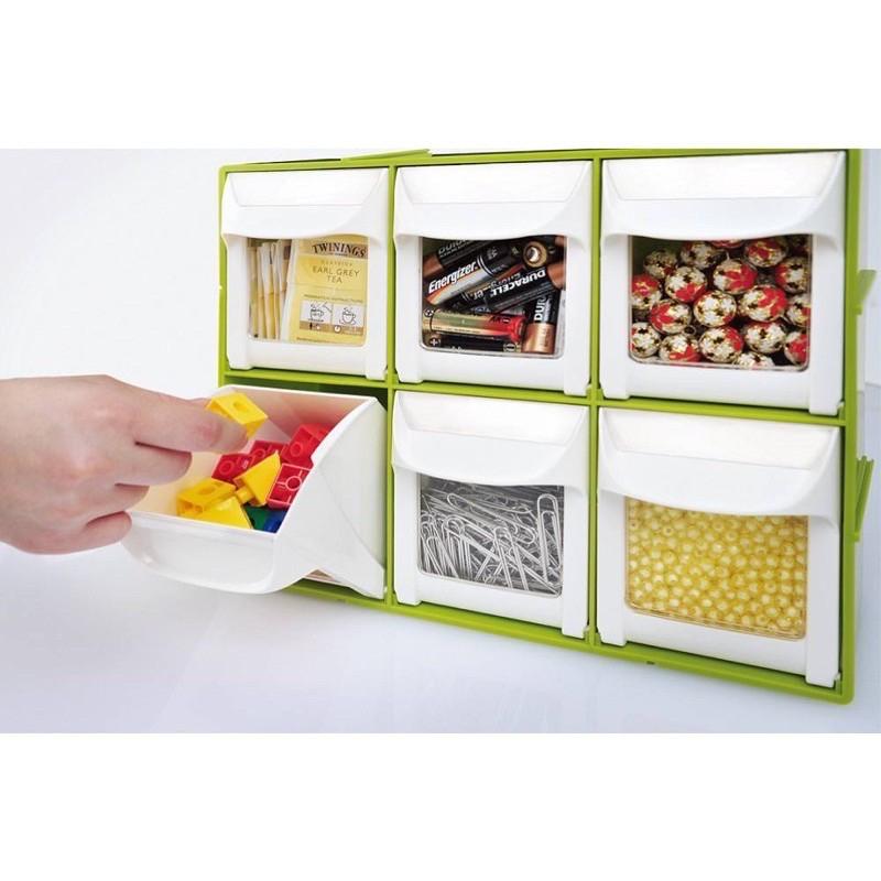 樹德Shuter 快取分類盒FO-306 限量特殊色 多功能置物箱 零件櫃 收納箱 分類櫃